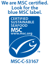 Unique Seafood is MSC Certified