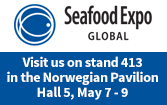 Visit Unique Seafood at Seafood Expo Global in Brussels, Hall 5, Stand 413 - 7-9 May 2019